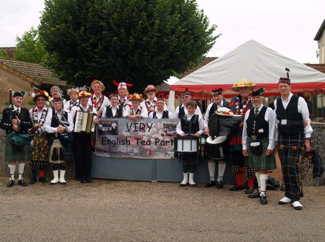 Diamond Jubilee Tea Party - Viry France 2012